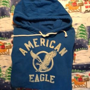 American Eagle Sweatshirt with front pockets.